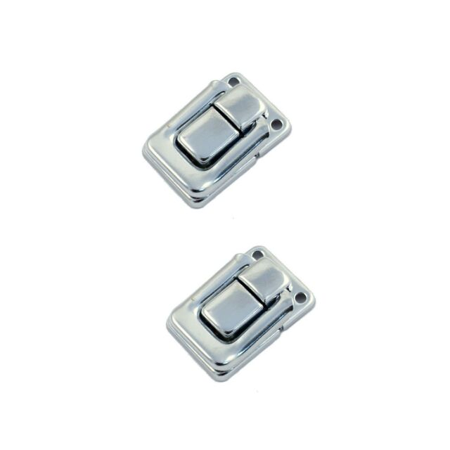(D62) 2 Nickel Drawbolt Closure Latch for Guitar Case /musical cases