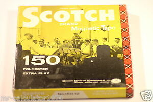 SCOTCH  MAGNETIC RECORDING TAPE REELTOREEL 150 POLYESTER EXTRA PLAY - bognor regis, West Sussex, United Kingdom - Returns accepted Most purchases from business sellers are protected by the Consumer Contract Regulations 2013 which give you the right to cancel the purchase within 14 days after the day you receive the item. Fi - bognor regis, West Sussex, United Kingdom