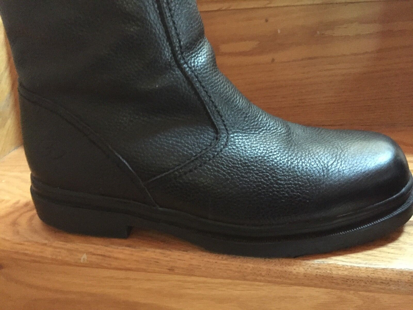 Florsheim Zip Boots Genuine  Shearling Lined! S 13 W