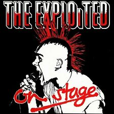 THE EXPLOITED - ON STAGE  VINYL LP NEU