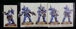 Warhammer-40K-Primaris-Infiltrators-Squad-B-5-Helix-Grenade-2-Pistols-Vanguard