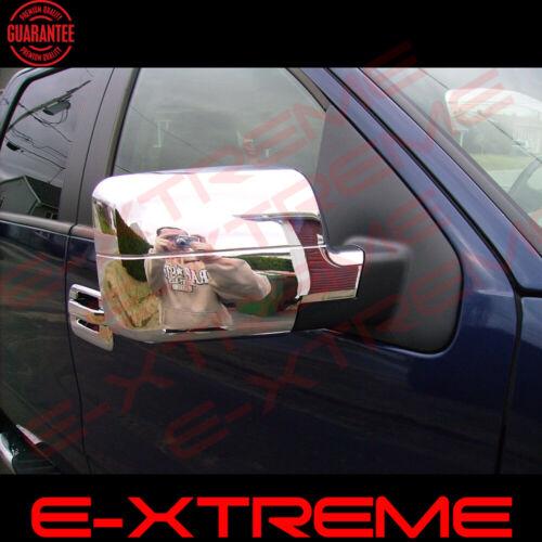 FOR FORD 2004 2005 2006 2007 2008 F150 XLT//FX4 CHROME Full MIRROR COVER Stick on
