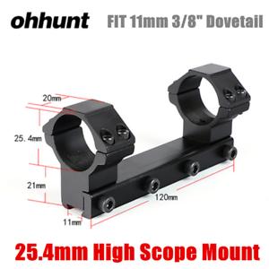 "30mm Steel Scope Rings Mount Low Medium High 11mm 3//8/"" Dovetail Ohhunt 25.4"
