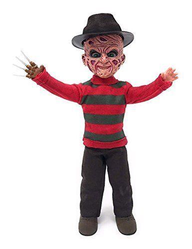 """NIB 10/"""" Nightmare on Elm Street Freddy Krueger Living Dead Dolls 2018 Mezco"""