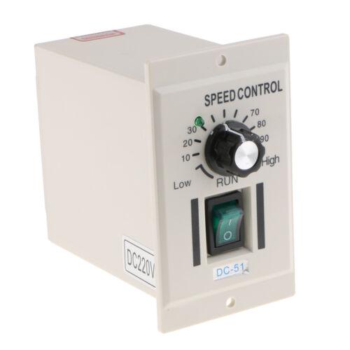 Off otor Regolatore di velocità AC 220V 50hz per motore CC 0-220V LED On