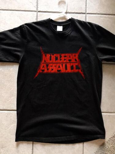 Nuclear Assault OG 1986 Hang the Pope shirt vintage vtg concert slayer exodus
