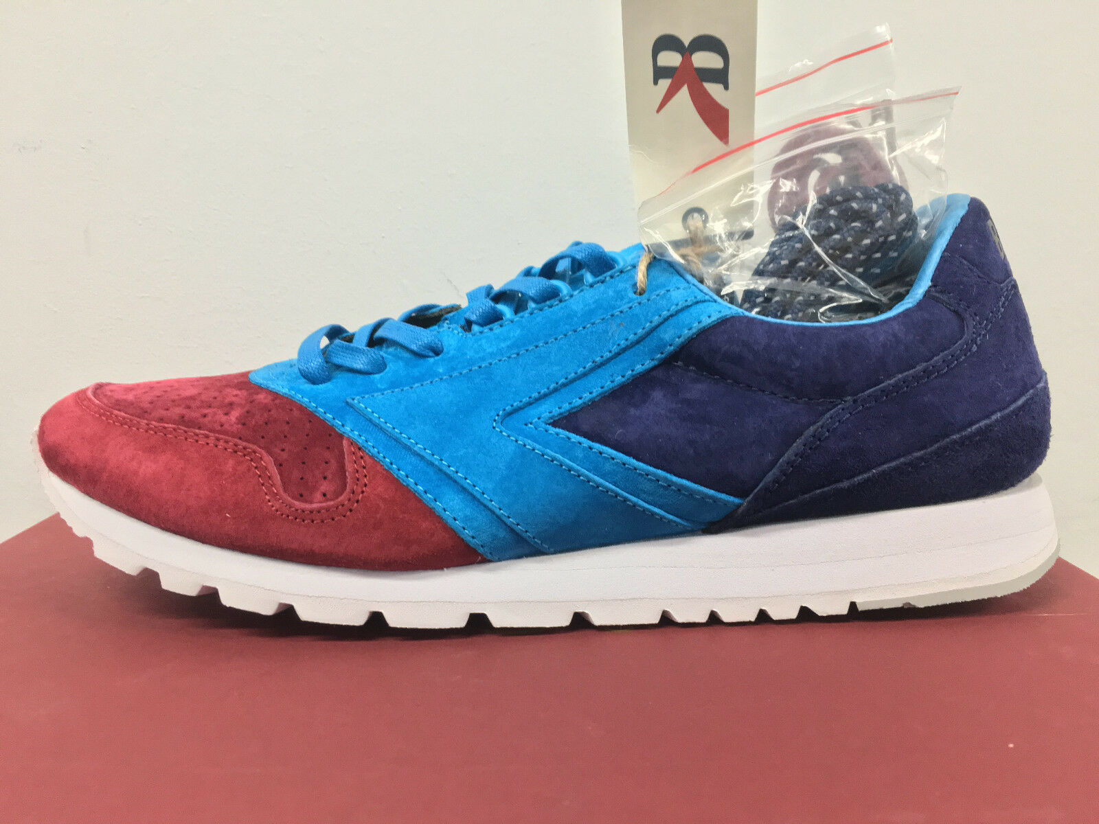Brooks X Concepts Chariot Navy Rosso 7-13 limited 500 pairs rf 1 ronnie