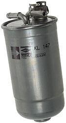 VW BORA 1.9 SDi TDi PD  KL147D Diesel Fuel Filter Genuine Mahle 1999-2005