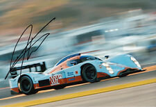 Darren Turner Hand Signed Aston Martin Racing Photo 12x8 7.