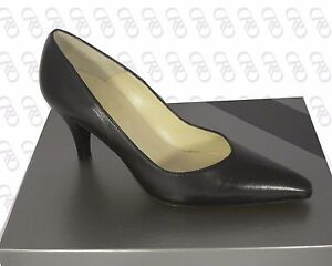 Decolte-scarpa-donna-pelle-nero-punta-MARIA-LUISA-35-36-37-38-39-SCONTO-50