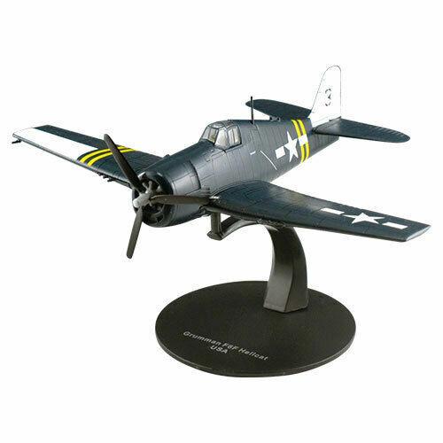 DeAgostini WWII Grumman F6F Hellcat USA 1//72 Diecast Model