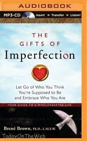 The Gifts Of Imperfection: Let Go Of Who You Think You're Supposed Cd Audiobook on sale