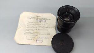 1973-Jupiter-12-2-8-F-35mm-Objektiv-m39-Schraub-Leica-LTM-Mount-Sowjetaera-Biogon