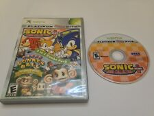 Sonic Mega Collection Plus/Super Monkey Ball Deluxe 2 in 1 Combo Pack (Microsoft Xbox, 2005)