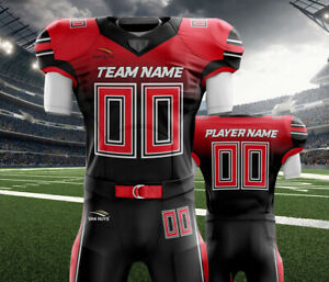online store 45e34 ff90f Details about Custom American Football Uniforms Sublimation 11 Set Jersey  and Pant Adult youth
