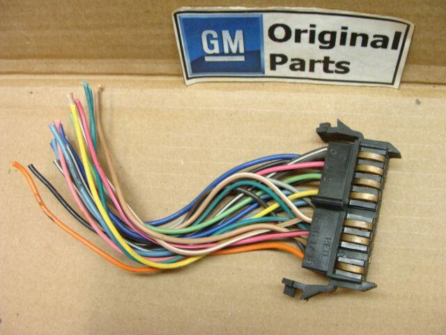 81 87 Monte Carlo Gm Dash Instrument Gauge Cluster Wiring