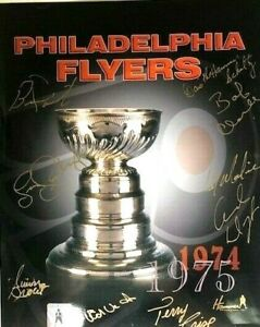 Philadelphia-Flyers-1974-75-Stanley-Cup-Trophy-Photo-Autographed-Dave-Schultz