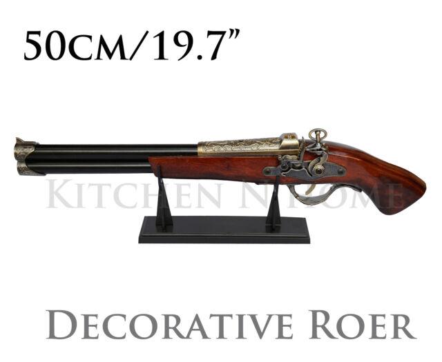 """19""""/50cm Decorative Pistol, Roer Retro Vintage, gift for him, gift for men"""