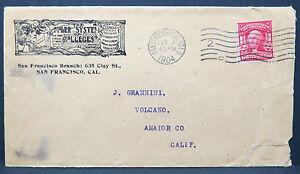 US-Cover-San-Francisco-Brunch-1904-Amador-Co-2c-Series-1902-Letter-Lot-8979