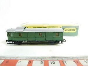 BB788-0-5-Minitrix-Spur-N-DC-51-3060-00-Gepaeckwagen-114-069-NEUW-OVP