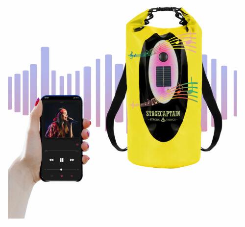 Robuster 20L Outdoor Drybag mit Bluetooth Lautsprecher und Solar ideal für SUP