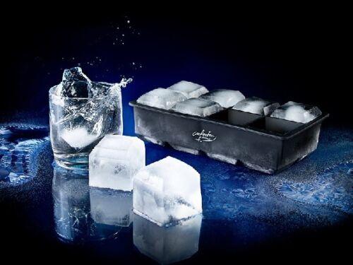 8 fois eisform 1 litres d/'eau Xxxl silicone glaçons pour 8 glaçons 5x5cm