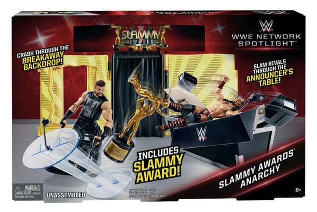 WWE NETWORK SPOTLIGHT SLAMMY AWARDS ANARCHY PLAYSET TRU EXCLUSIVE
