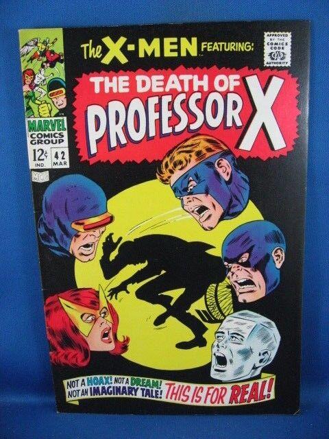 The X-Men #42 (Mar 1968, Marvel) F/VF
