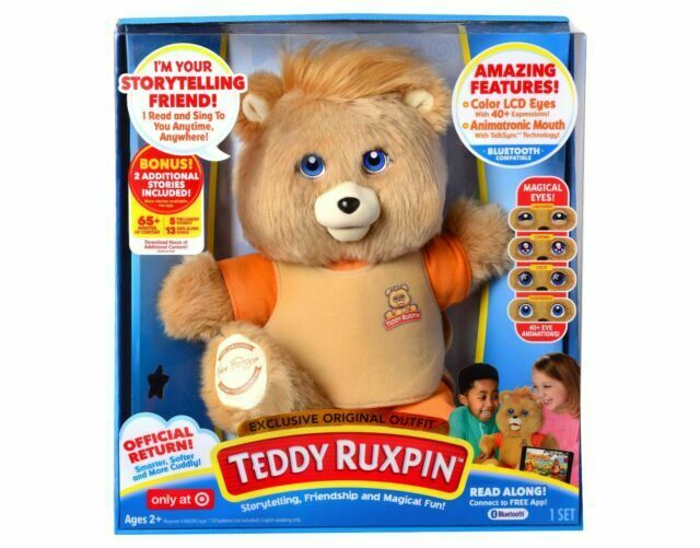 NEW TEDDY RUXPIN Exclusive Edition Animated Bluetooth LCD Magical Eyes