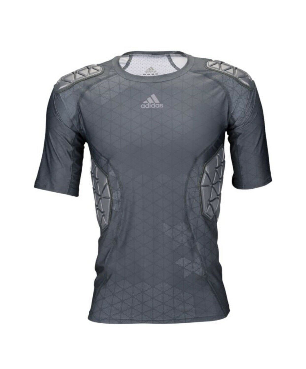 Men's Adidas Ironskin 5-Pad Top - Dimensione gree