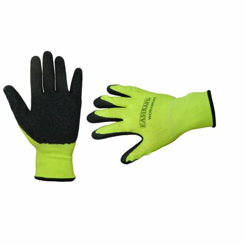 PU Coated Easy Grip Thermal Comfort Gloves Workwear Heavy Duty Safety Gear