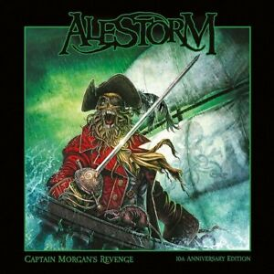 Alestorm-Captain-Morgan-s-Revenge-10th-Anniversary-NEW-2-x-CD-MEDIABOOK