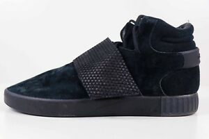 official photos 03669 891a8 Image is loading Adidas-Tubular-Invader-Strap-Triple-Black-BB1169-Size-