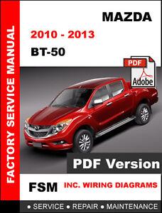 mazda bt 50 bt50 2010 2013 manual de mantenimiento de taller de rh ebay com manual de taller mazda bt 50 gasolina manual de taller mazda bt-50 diesel