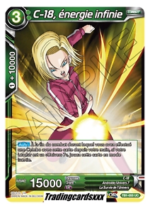 TB1-055 UC énergie infinie ♦Dragon Ball Super♦ C-18 VF