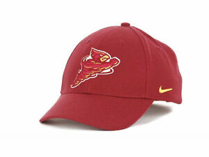 5ae725aa24f Iowa State Cyclones Nike NCAA Wool Classic Adjustable Strapback Cap ...