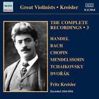 Complete Recordings Vol.3 von Fritz Kreisler (2011)