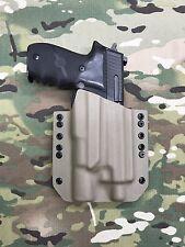 Black Kydex Holster SIG P226R Threaded Barrel Surefire X300 Ultra B Model