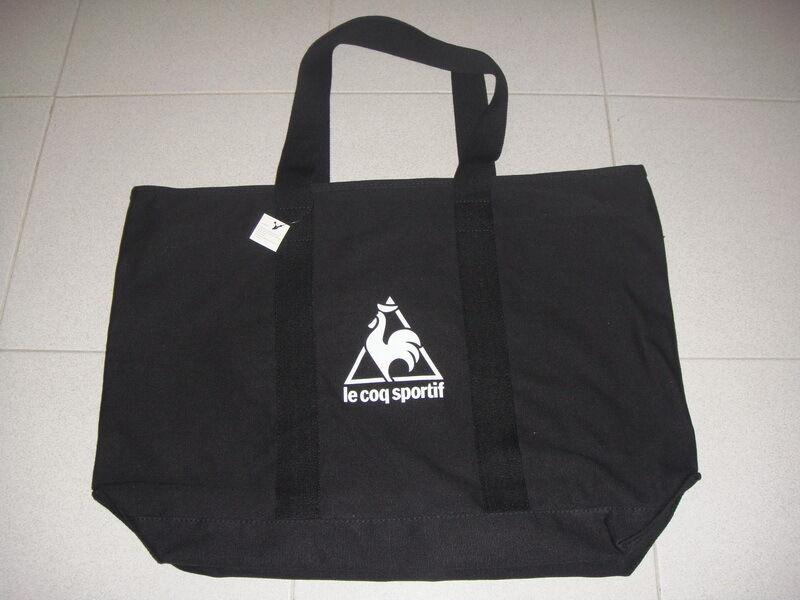 Le coq sportif Sport Shopper Shpooing Yoga Travel Tennis Gym Beach Bag