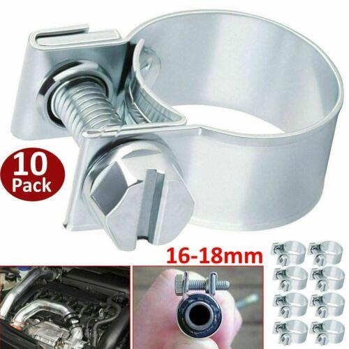 10 Pack GENUINE JUBILEE CLIPS STAINLESS HOSE CLAMP Diesel Petrol Pipe Radiator