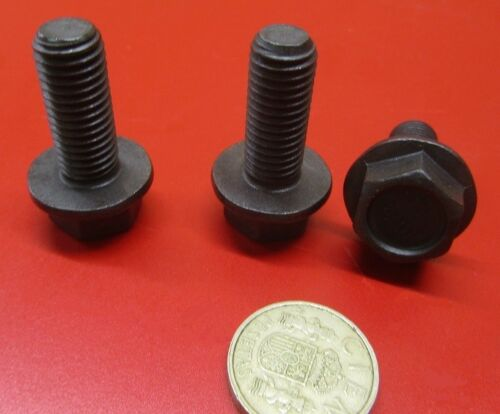 20 Pc FT Steel 10.9 Metric M12 x 1.75 x 30 mm Length Flanged Cap Screw Bolt