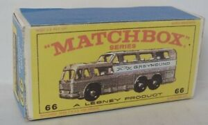 Repro Box Matchbox 1:75 Nr.66 Greyhound Bus