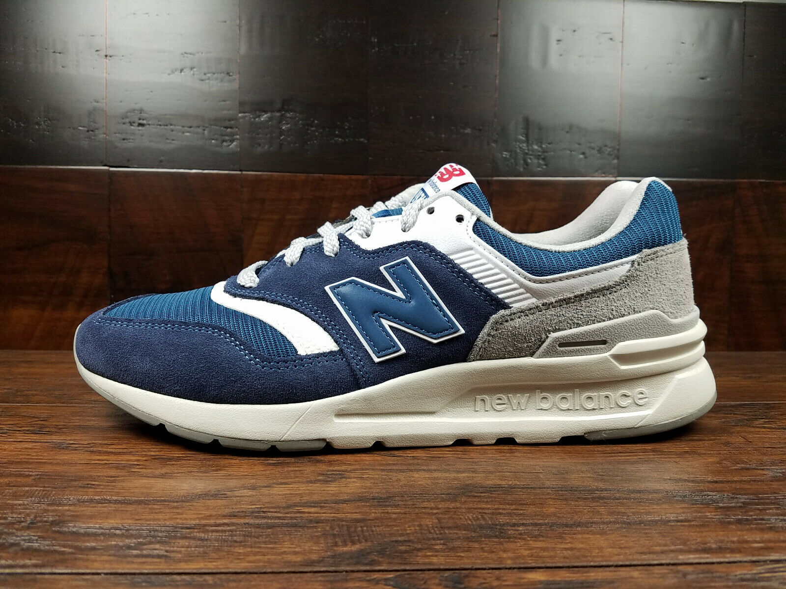 New Balance CM997HDQ  Classic  (Eclipse Blau   Rain Cloud) Suede 997 Mens 8-13