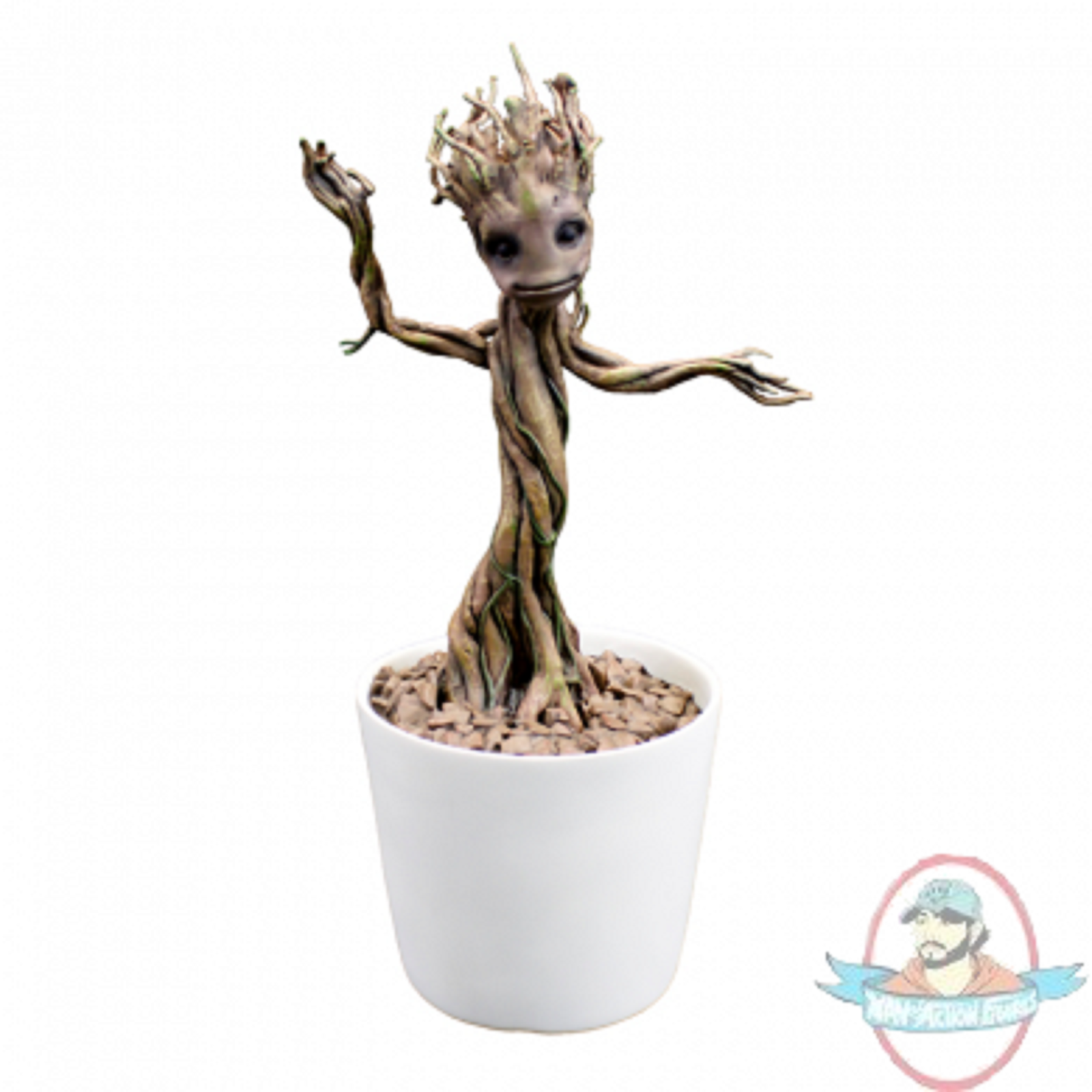 1:1 Guardians of the Galaxy Dancing Groot Premium Motion Factory DAMAGED