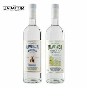 Babatzim-Tsipouro-mit-und-ohne-Anis-2x-700ml-Tresterbrand-Traubenbrand