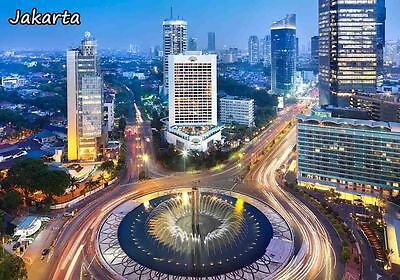 JAKARTA INDONESIA TRAVEL SOUVENIR FRIDGE MAGNET #fm132