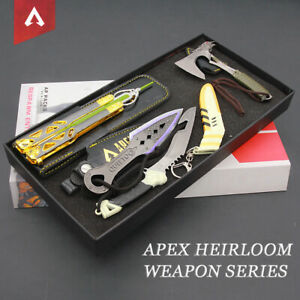 APEX Game Peripheral Heirloom Gift Box 4pcs Set with leather case Octane&Wraith