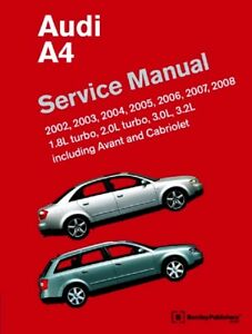 image is loading audi-a4-new-bentley-a401-printed-service-manual-