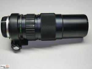 Olympus Om Zuiko Mc 1: 5/85-250mm Telezoom Lente de Objetivo (55mm) Zoom