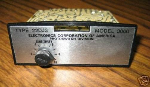 Electronics 22DJ3-3000 PhotoSwitch Plug-in Module